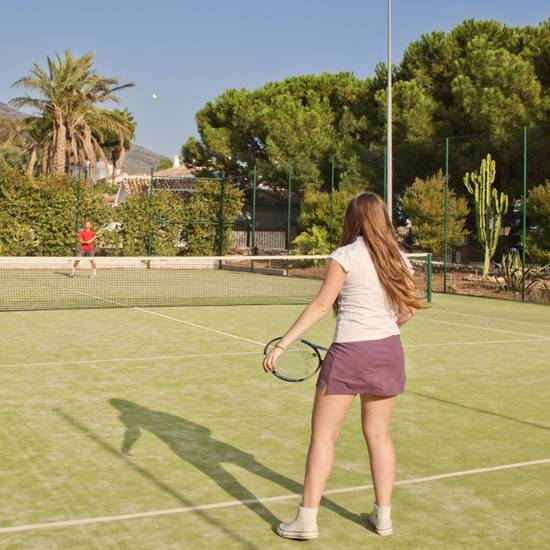 TENNIS COURT TRH Mijas -